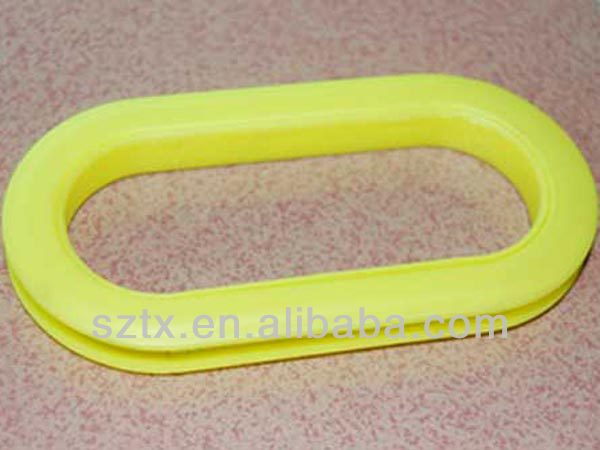 113mm yellow plastic handles for boxes
