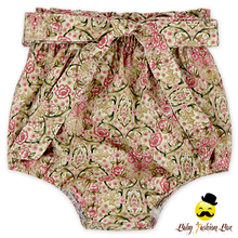 Wholesale Cotton Baby Girl Floral Free Panties Type Vintage Bloomer For Kids