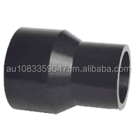 Plastic pipe reducer