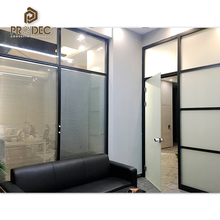 Guangzhou office furniture clear plastic low partition movable office partitions