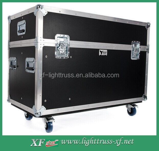 Heavy Duty Tool Case Road Case Hardware Tool Box Wheeled Cable Flight Case