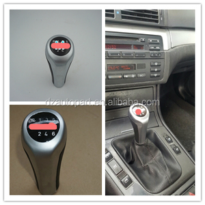 For BMW 1 3 5 6 Series E30 E32 E34 E36 E38 E39 E46 E53 E60 E63 E83 E84 E90 E91 New 5 Speed 6 Speed Gear Shift Knob With M Logo