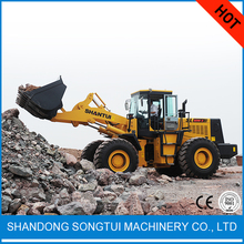 machinery chinese shantui brand 5ton sl50w-2 wheel loader for sale