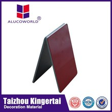 Alucoworld favor 5mm aluminium composite panel acp sheet