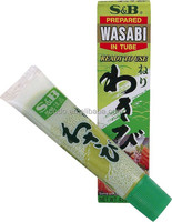 Sushi Seasoning Horseradish Wasabia Japonica Hot Wasabi Paste with Halal