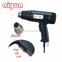 1500W adjustable temperature heater electric cordless battery heat gun