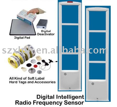 shop anti-theft RFID EAS antenna security scanner gate