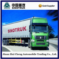 Howo 6*4 high roof tractor truck for sale