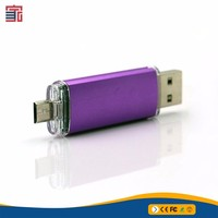 Factory directly selling otg phone use usb flash drive
