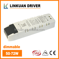 60w dimmable led driver constant current 1700mA with SAA and C-tick certificate for downlight and panel light model LKAD042D
