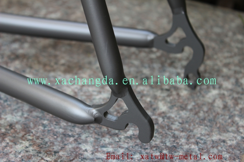 XACD made titanium touring bike frame titanium cyclocross bike frame Ti road bike frame custom