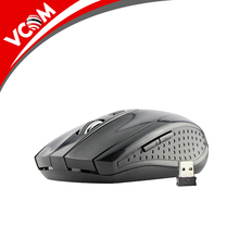 VCOM High Quality 1600 DPI Black Mini Wireless Mouse for Computer Laptop