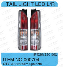 for for hiace auto parts commuter VAN BUS KDH200 tail light LED #000704 for haice 2010 new model