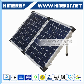 Full Set High Efficiency 120 watt Foldable Solar Panel