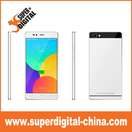 5 inch QHD android cell phone 3G with tempered glass cover