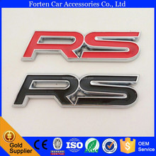 Custom ABS RS Badge Car Sticker Emblem