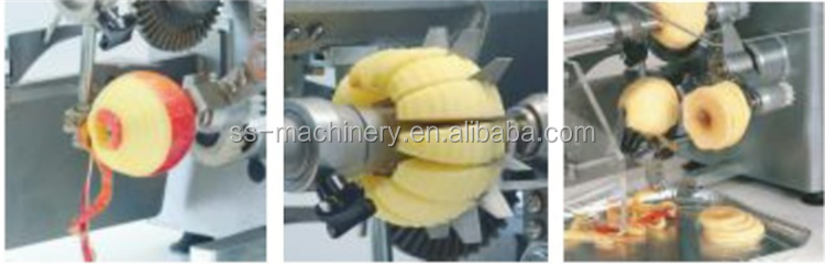 Hot sale apple peeling machine/apple peeler/apple core remover peeling machine