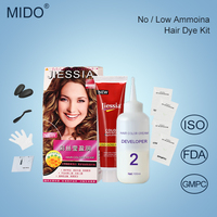 China Hair Color Brands Manufacturer Wholesale Fashion Family Use Hair Dye ,Long Lasting Hair Color Cream Kit