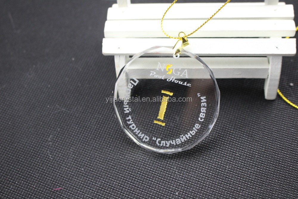 Factory directly sale wholesale price K9 AAA best quality crystal pendant for christmas decoration