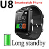 A8 POWER U8 Bluetooth Watch factory Smart Wristwatch Phone Mate for Smartphones IOS Apple Iphone Android Samsung s6/s4/s5/note 5