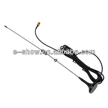 Popular SMA-F UHF+VHF Magnetic Vehicle car radio antenna for Kenwood baofeng BF-888s H777 UV-5R HYT PUXING TYT BAOFENG UT-106UV
