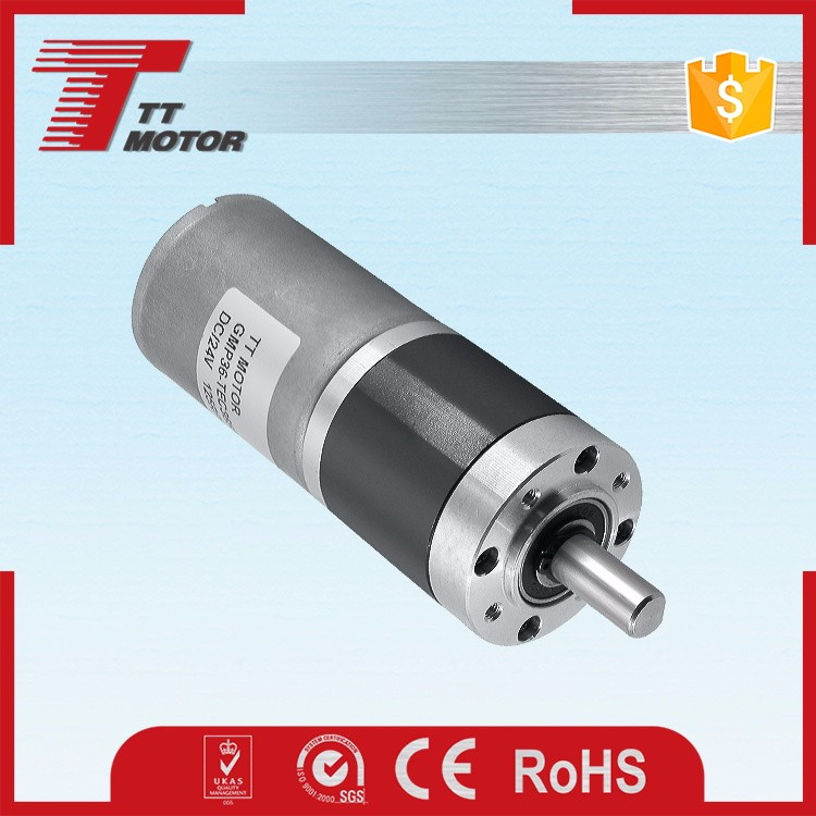 GMP36-TEC3650 brushless motor 12 volt 24 volt micro geared motor