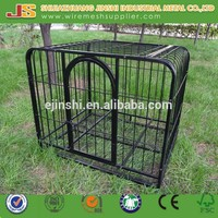 Hot Dipped Galvanized Welded powder coated dog kennel panels