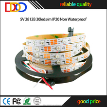 Factory Wholesale addressable ws2812b led strip with very good factory price
