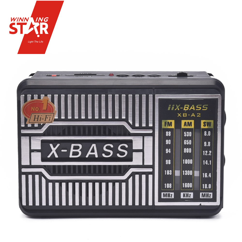 Portable FM Mp3 Radio FM AM WS 3 Bands Radio USB SD Mp3 Player Kitchen Radio