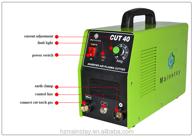 Trade Assurance DC Air Plasma Cutting Machine Price CUT40