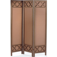 Decorative modern design wooden folding screen room divider