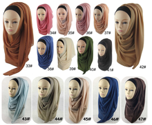 2016 Popular fashion dubai muslim wholesale chiffon shawl hijab