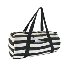 online shop china Canvas striped drums traveling sports bag