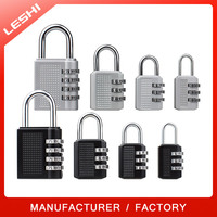 Baggage Luggage Zinc Alloy Combination Padlock