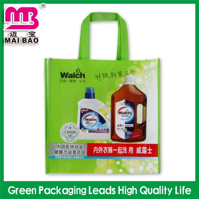 customized size and design recycled non woven foldable fruit tote bags