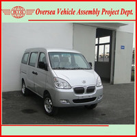 China Euro IV Standard Gasoline Engine Super Cool A/C 8 Seats or 600 KG Loading Capacity Commercial Mini Vans