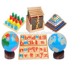 High Quality Children Early Learning Toys Montessori Teaching Aids Wooden Material Educational Set Montessori for Kids