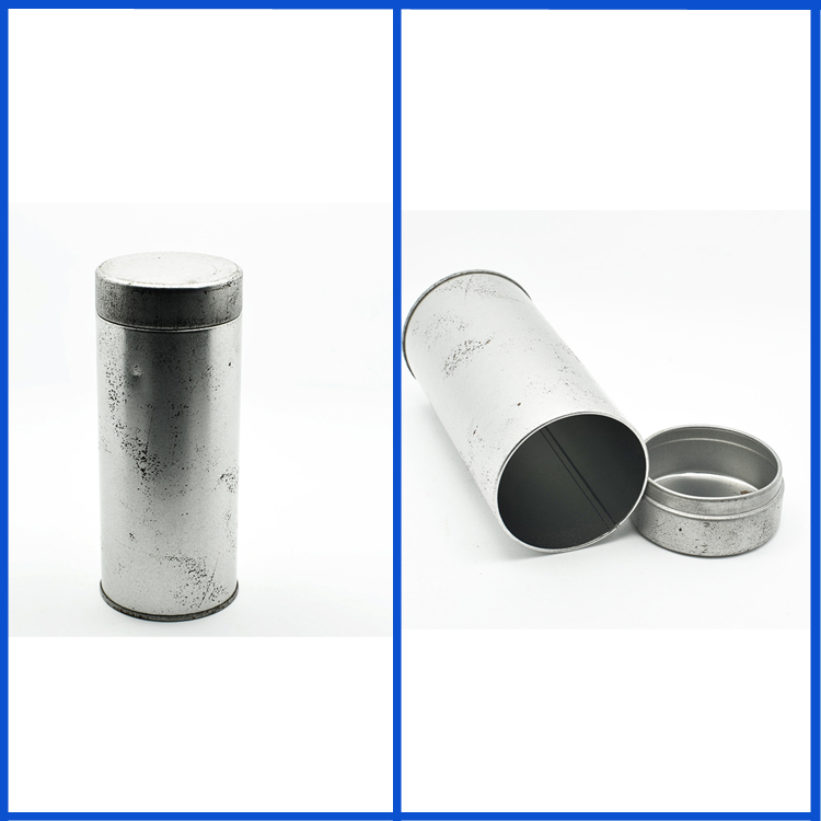 Top quality shallow round tin can