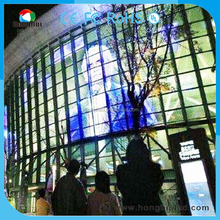 Flexible outdoor pakistan advertising P5.95 led screen curtain