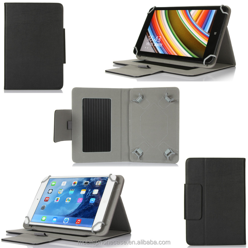 Universal Rotating Folio Case for 8 inch tablet with multi-angles