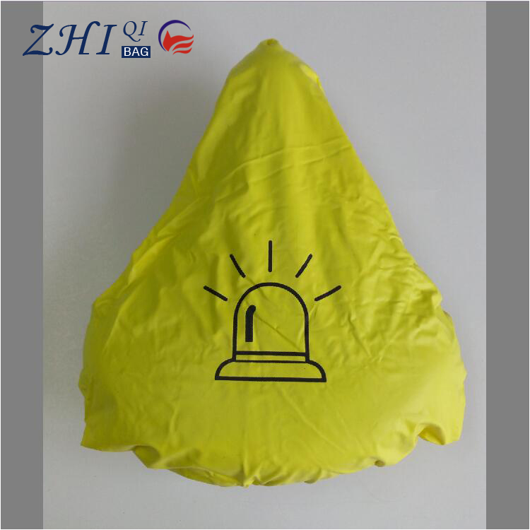 Logo can custom waterproof pvc bicycle seat cover Comfortable Cushion Soft Seat Cover