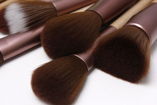 professional synthetic hair set brush makeup