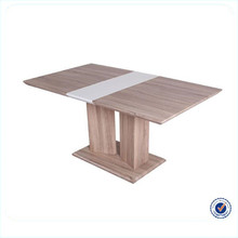 China hot selling extensible wooden retractable dining table