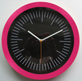 custom design plastic wall clock with any color you can select