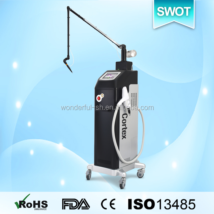 buy safety co2 fractional laser facial hair salon equipment picture