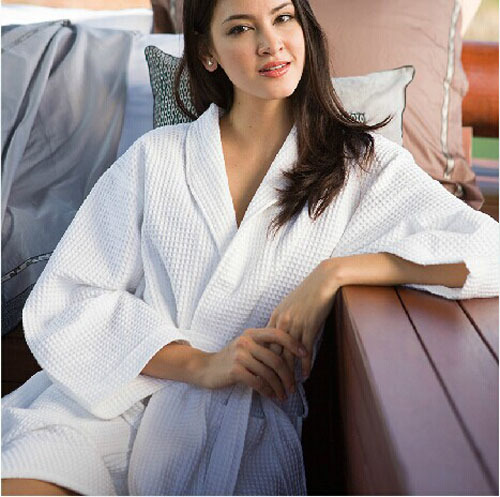 Hot selling white cotton pajama night wear women sleepwear