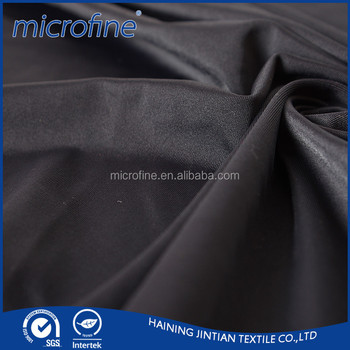 new colorful polyester strech satin fabric for women dress