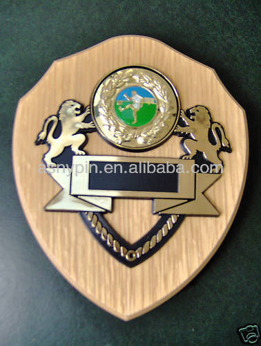 FOOTBALL sports awards /football shield plaque trophy