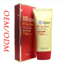 UV Sun Block Makeup BB Cream SPF 50 Wholesale Sunblock 50ml
