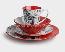2015 wholesale asian style dinnerware, 16pc liquidation dinnerware,spanish ceramic dinnerware